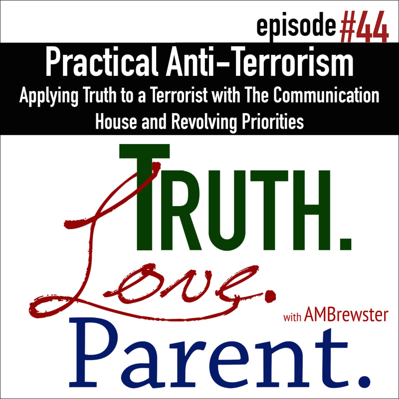 Practical Anti-Terrorism: Applying Truth to a Terrorist with the Communication House and Revolving Priorities
