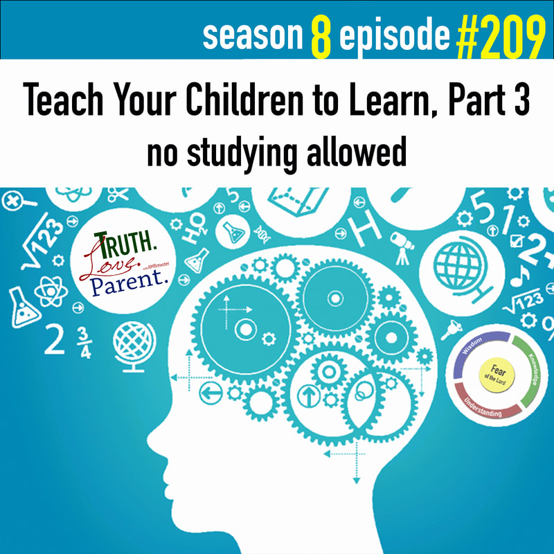 Teach Your Children to Learn, Part 3 | no studying allowed