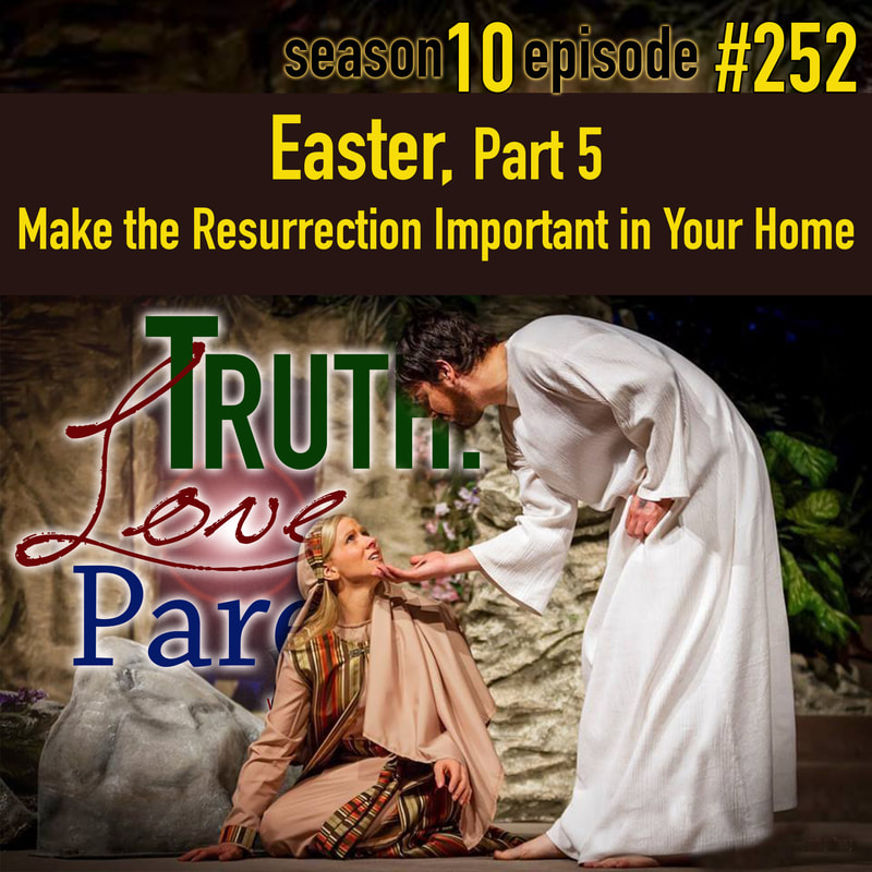 Make the Resurrection Important in Your Home