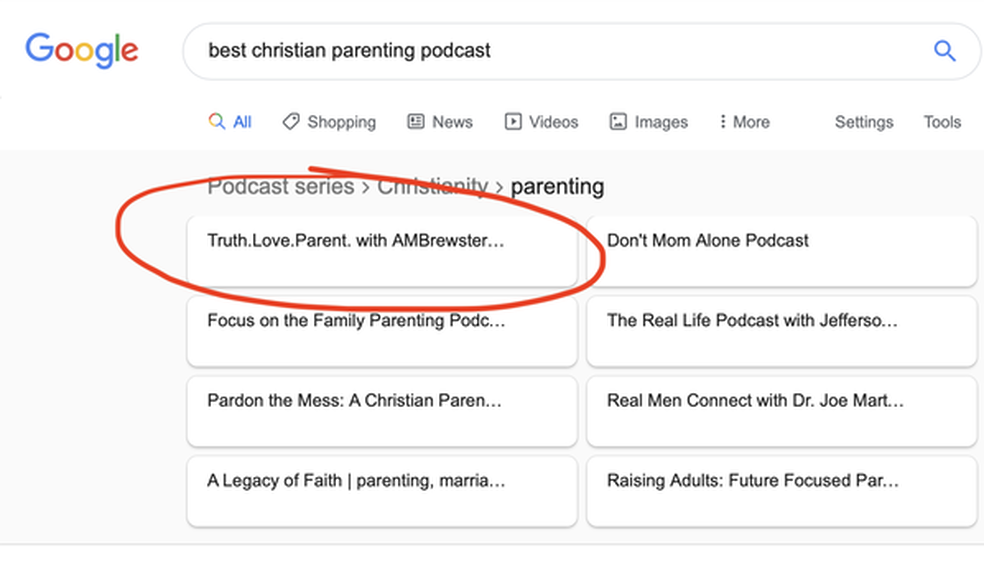 Best Christian Parenting Podcast