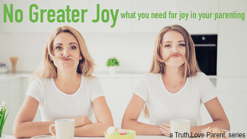 No Greater Joy what you need for joy in your parenting